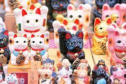 Ngôi đền có 10.000 con mèo may mắn