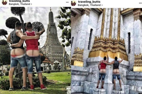 Dân mạng truy tìm cô gái mặc nội y quỳ lạy trước chùa-4