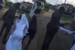 Chứng kiến hành động của cô dâu, chú rể hủy hôn dù đang đến lễ đường
