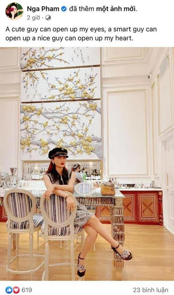 Vợ 2 Minh Nhựa sống ảo, đăng status tiếng Anh nhưng copy thiếu-1