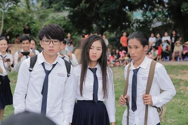 Đâu chỉ phim Hàn bạo lực học đường, phim Việt học sinh cũng máu me đấm đá-7