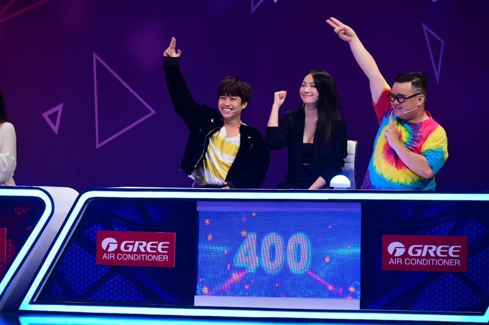 Yaya Trương Nhi phá đảo điểm số gameshow Bộ 3 ăn ý-4