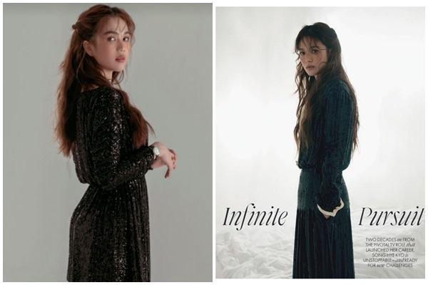 Ngọc Trinh sao chép phong cách từ tỷ phú Kylie Jenner đến Song Hye Kyo-10