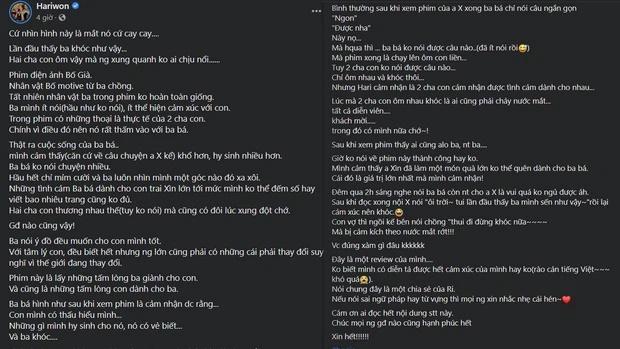 Hari Won viết tâm thư về bố chồng: Bố Già ba không nói được câu nào-2