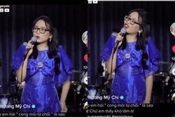 Phương Mỹ Chi thắc mắc câu hát trong bài bolero Như Quỳnh, netizen khen nói chuyện duyên