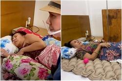 Nghệ sĩ Hoàng Lan: Bệnh tình ngày càng nặng, hoại tử sâu thấy cả xương