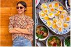 2 bữa ăn ngày nghỉ của Hà Tăng nấu cho cả nhà