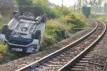 Vụ tàu hỏa đâm ôtô khiến 3 người thương vong: Nhân viên gác kéo barie chậm-2