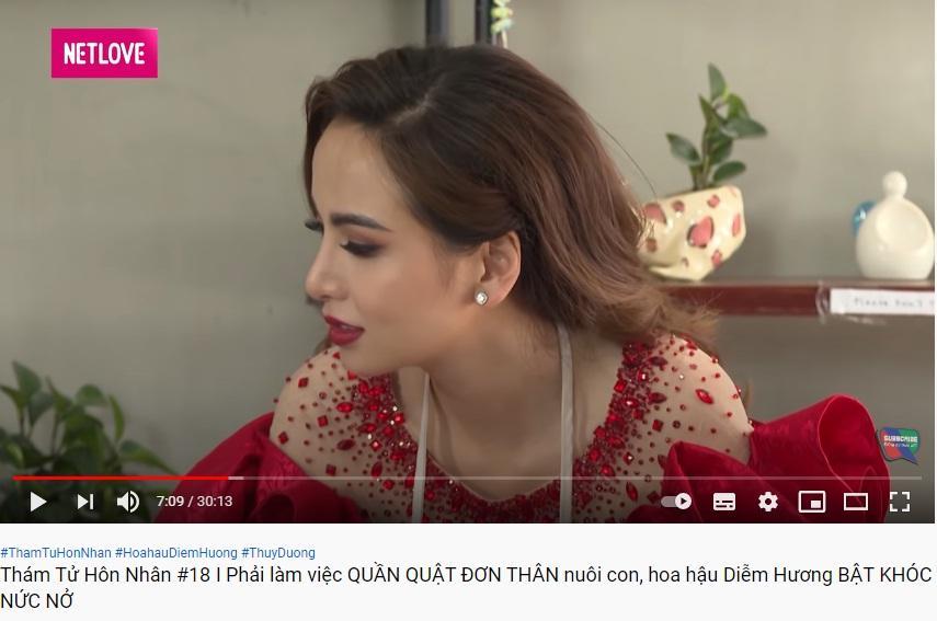 Lộ cả chùm bằng chứng hoa hậu Diễm Hương ly hôn chồng thứ 2-1
