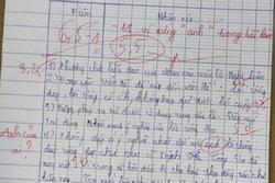 Bài kiểm tra Ngữ văn của nam sinh lớp 11 bị trừ 1 điểm vì lý do khó đỡ
