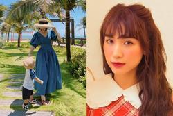 Hòa Minzy phản ứng gắt khi bị bắt bẻ 'chưa chồng mà có con'