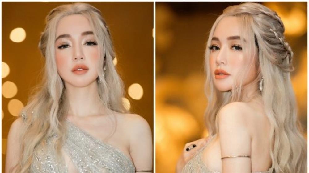 Elly Trần nhuộm tóc bạch kim: Từ ngầu đét đến hóa tiên nữ-7