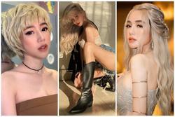 Elly Trần nhuộm tóc bạch kim: Từ ngầu đét đến hóa 'tiên nữ'
