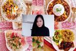Mẹ Việt ở Maylaysia khoe suất cơm đĩa trong những ngày ở nhà tránh dịch