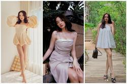 Tuyệt chiêu hack dáng của cô nàng '3 mét bẻ đôi' Kaity Nguyễn