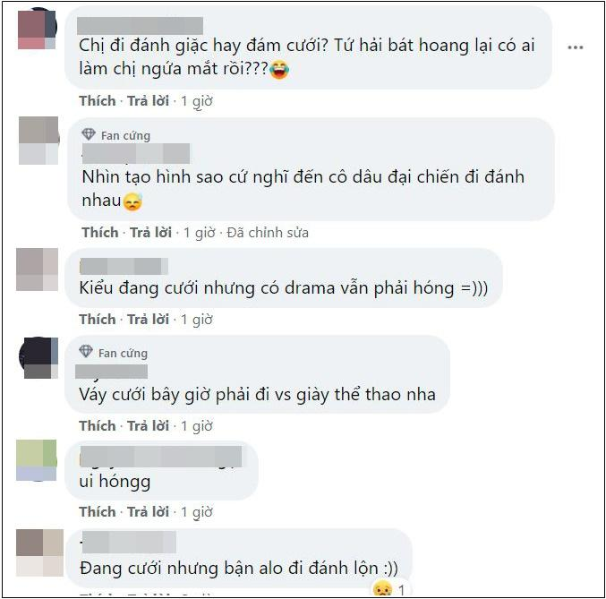 Dương Mịch cưới phi công Hứa Khải nhưng mặt nhà gái sao giống đánh lộn?-4