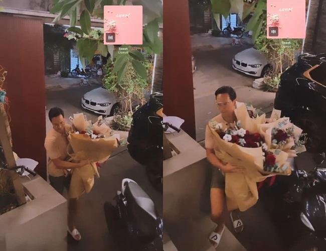 Kim Lý chiếm spotlight 8/3 bằng 5 bó hoa, còn bonus nói tiếng Việt-1