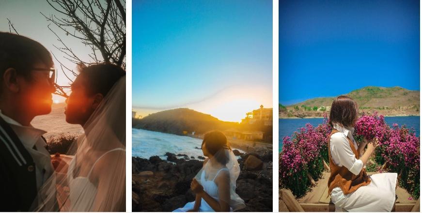 Cặp đôi đi Vũng Tàu chụp ảnh cưới nhưng lại dính chiêu lừa của bà bán hàng rong-2