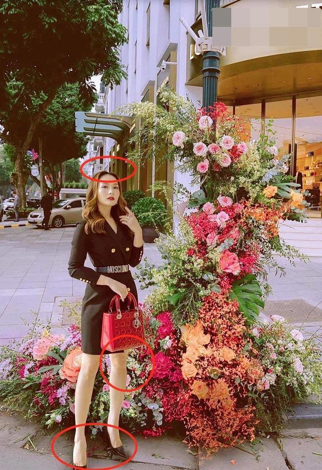Hồng Diễm - Bảo Thanh lộ trình photoshop giả trân bên cột đèn hoa-8