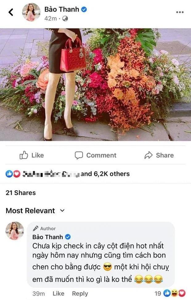 Hồng Diễm - Bảo Thanh lộ trình photoshop giả trân bên cột đèn hoa-9