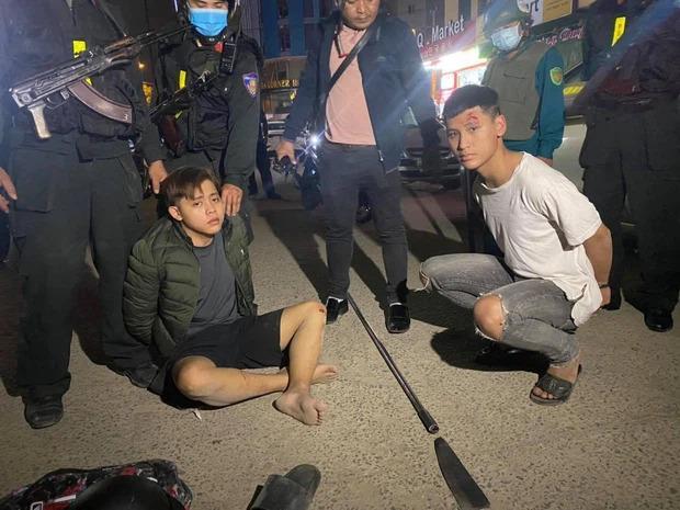 Cảnh sát nổ súng truy bắt nhóm học sinh Đà Nẵng mang hung khí hỗn chiến-4