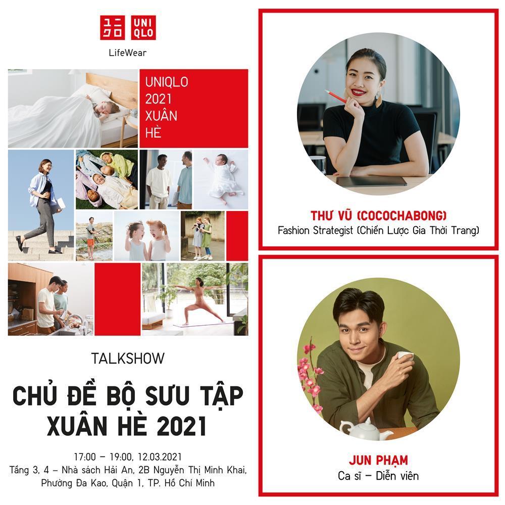 Uniqlo tổ chức chuỗi talkshow đặc biệt ra mắt BST Xuân Hè 2021-2