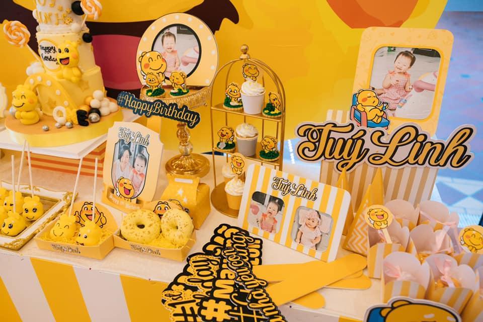 Tiệc sinh nhật 1 tuổi chuẩn rich kid của cháu gái Trấn Thành-6