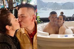 Những khoảnh khắc lãng mạn của vợ chồng Jennifer Phạm