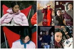 Lưu Diệc Phi dùng một chiếc ghế suốt 18 năm