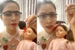YouTuber Thơ Nguyễn ẩn clip cho búp bê uống nước ngọt 'xin vía học giỏi'