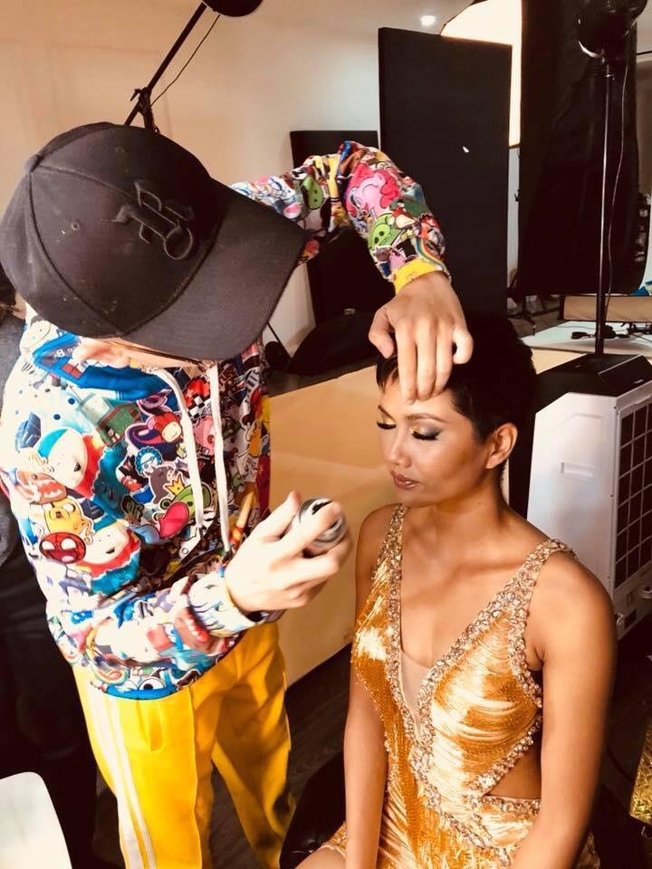 Lời dặn dò HHen Niê của makeup xấu số Minh Lộc-3