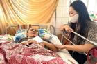 Nghệ sĩ Hoàng Lan hoại tử lưng vào tới xương, tay và lưỡi co rút