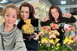 Bà xã cố nghệ sĩ Chí Tài nhận quà 8/3 muộn mà vẫn vui