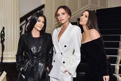 Quan hệ thân thiết giữa Victoria Beckham và Kim Kardashian