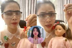 Phía Thơ Nguyễn khẳng định clip 'cho búp bê uống coca' bị cắt ghép