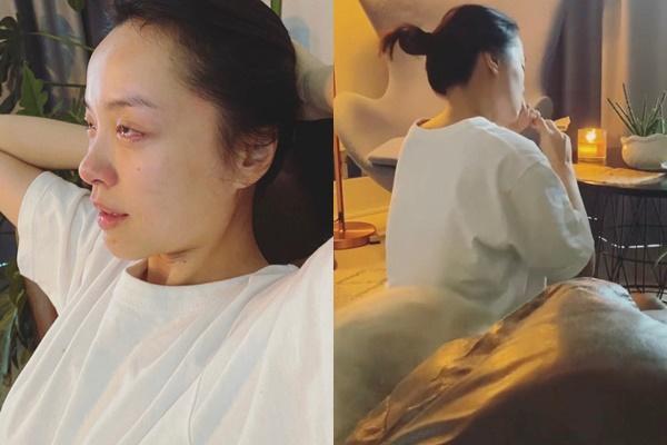 Cơ trưởng Quang Đạt để lộ mặt mộc bạn gái hot girl khác xa ảnh mạng-6
