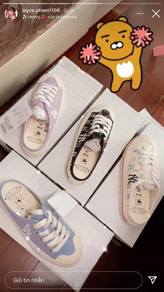 Con gái Minh Nhựa sắm giày hiệu nhưng phải đủ các màu-4