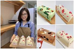 Mẹ Sài Gòn khoe loạt bánh bông lan cuộn nhìn đẹp 'phát hờn', sao mà nỡ ăn