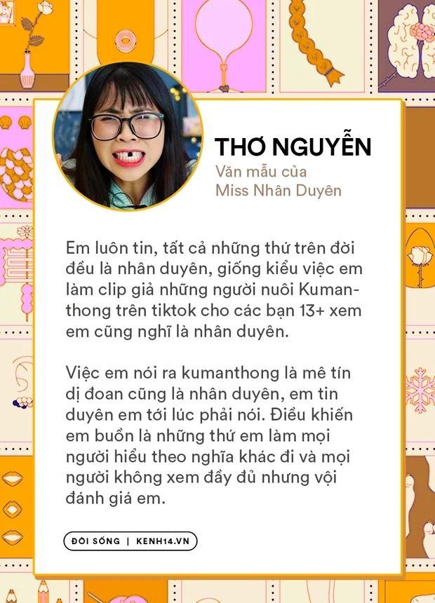 Sau Sự Nghiệp và Duyên Phận, đến lượt chị Thơ Nguyễn debut làm Miss Nhân Duyên-2