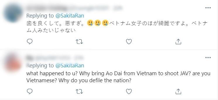 Diễn viên Ran Sakita đưa cả nón lá Việt Nam vào phim người lớn-10