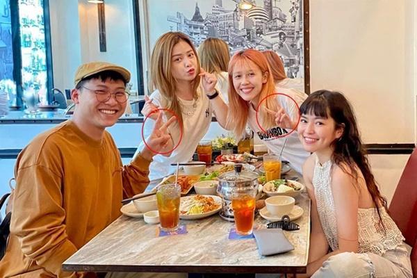 Mũi trưởng Long xuất hiện cùng chị em Sao Nhập Ngũ, fans soi chi tiết giống Hậu Hoàng-4