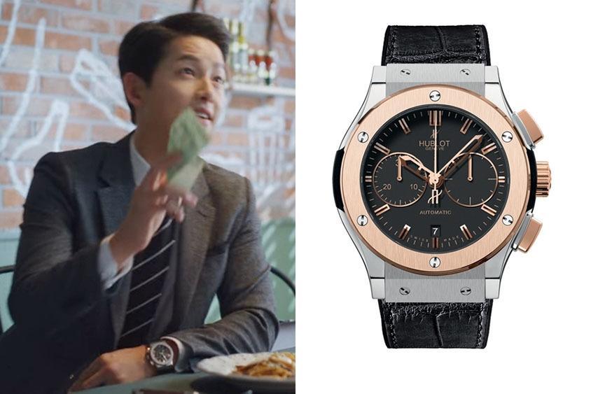 Song Joong Ki diện bộ sưu tập đồng hồ xa xỉ trong Vincenzo-3