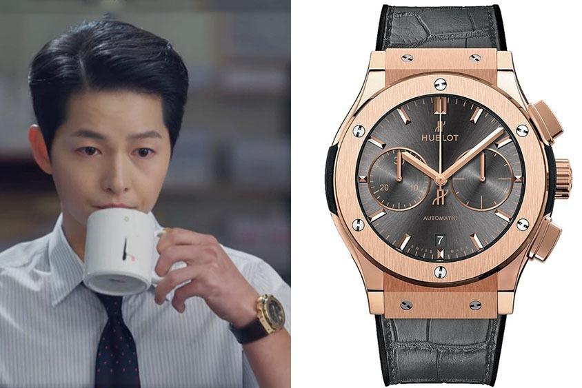 Song Joong Ki diện bộ sưu tập đồng hồ xa xỉ trong Vincenzo-6