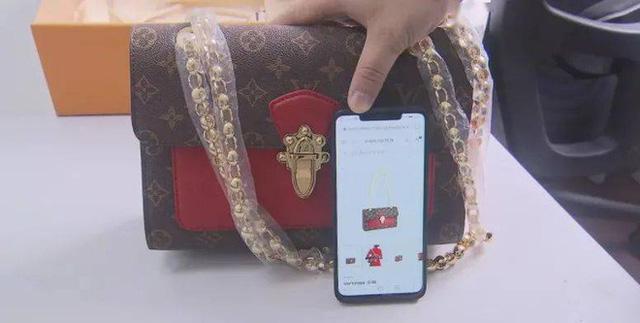 Đẳng cấp hàng nhái Trung Quốc: Túi LV giả có chip NFC, túi thật không hề có-2