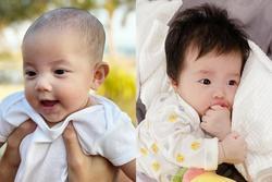 Con gái Đông Nhi, con gái Hà Hồ cùng khoe vẻ đáng yêu