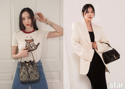 Style sao Hàn: Lee Da Hee trẻ trung, ác nữ 'Penthouse' diện đồ bình dân vẫn sang chảnh