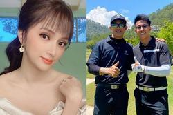 Ngoại hình bồ cũ và tình mới Hương Giang bị so sánh