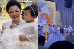 'Cô dâu 200 cây vàng' tổ chức tiệc sinh nhật chuẩn rich kid cho con gái 1 tuổi