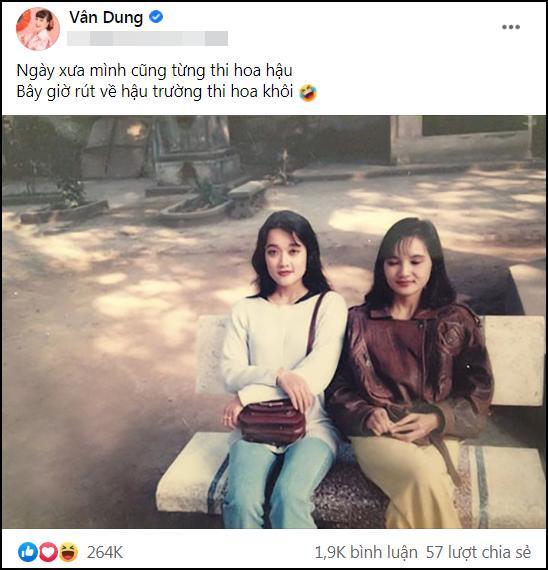 Vân Dung gây sốt với nhan sắc thương hiệu top 15 Hoa hậu Việt Nam-1