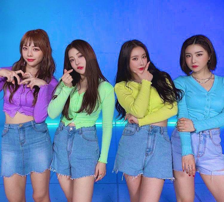 Brave Girls đoạt cúp khiến netizens nhớ về T